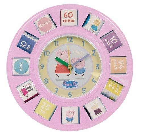 zeon-peppa-pig-rotating-blocks-bedside-wall-clock-pink