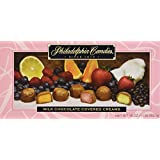 Philadelphia Candies Milk Chocolate Covered Assorted Creams (Soft Center Chocolates Candy) Gift Box