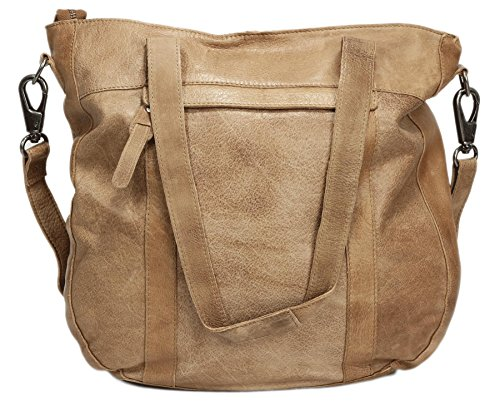 Greenburry Stainwashed Shopper Tasche Leder 35 cm Clay