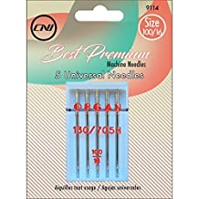 Clover 9114 Best Premium Machine Needles, Universal Needles