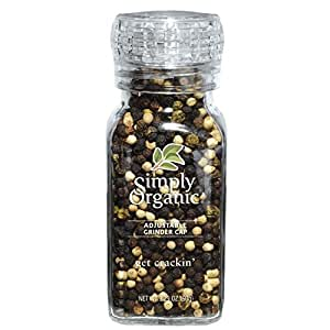 Simply Organic Get Crackin' Grinder -- 3 oz