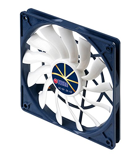 Titan 12V DC Cooling Fan Extreme Silent Low Speed Control (120mm)