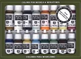 Vallejo Naval Steam Era Paint Set, 17ml