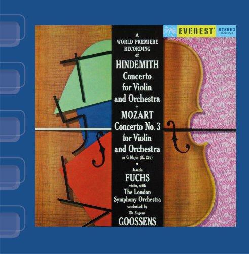 Everest Iii Cd (Hindemith: Violin Concerto & Mozart: Violin Concerto No. 3)