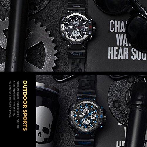 Anal 243 Gico Digital Reloj Militar Reloj Deportivo Para