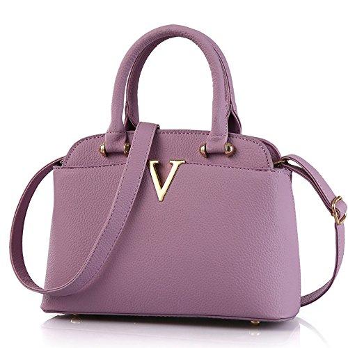 femme violet en Sac Myleas à cuir bandoulière pour Pu z8Hq0