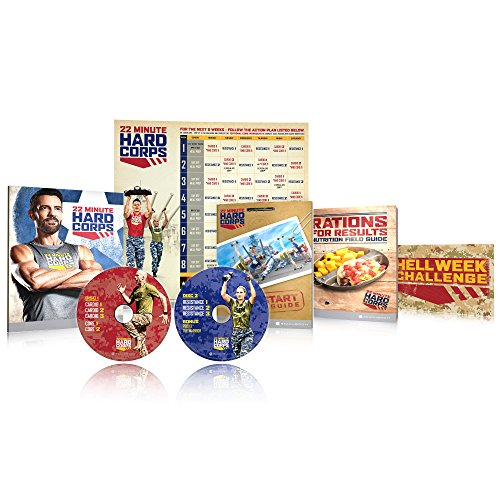 22 Minute Hard Corps Workout Program Base Kit - Tony Horton by Beachbody