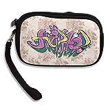 Zipper Small Wallet Hip Hop Women's Purse Porte-monnaie Clutch Cards Holder Wallet Purse Business Card Wallet