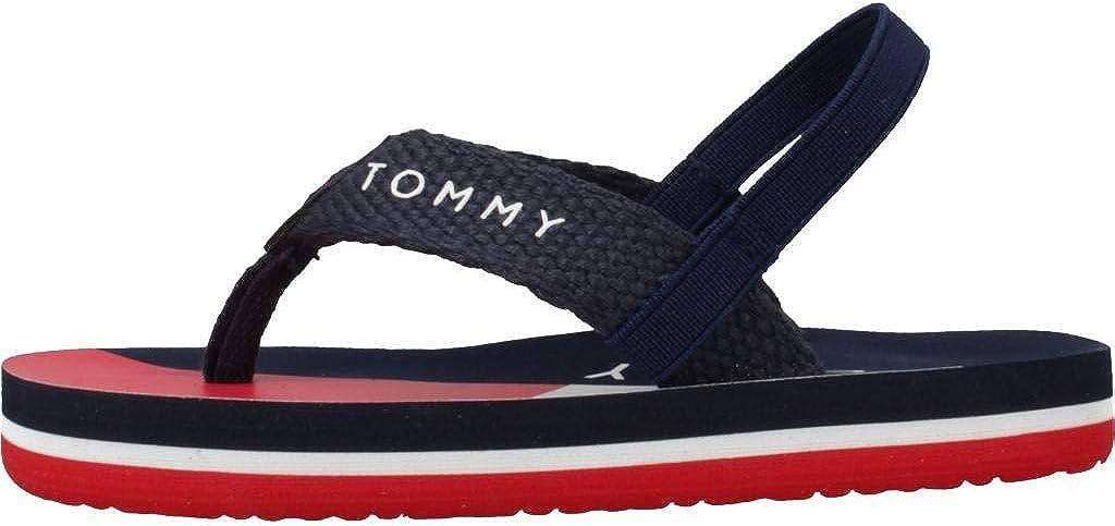 Tommy Hilfiger Flip Flop Blau Textil Kleinkinder Flip Flops Sandalen