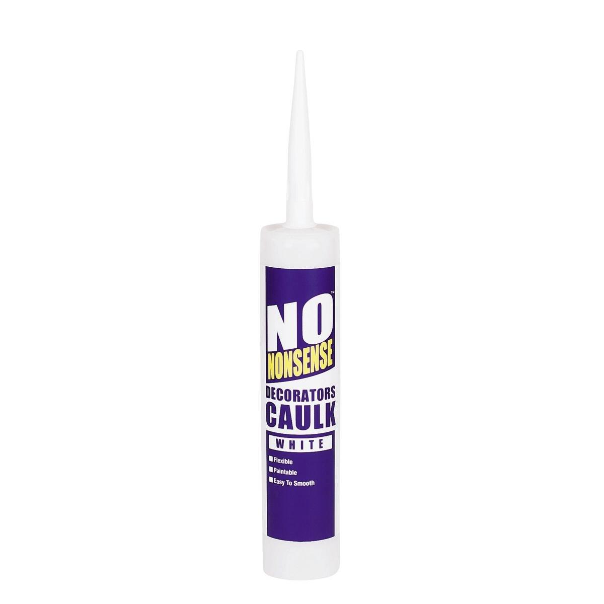 No Nonsense Decorators' Caulk White 310ml