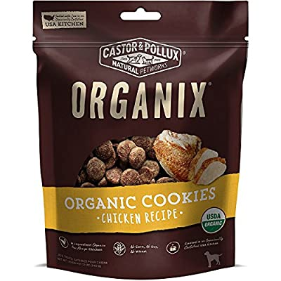 Castor & Pollux Organix Chicken Flavored Dog Cookies