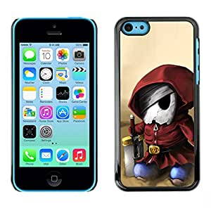 MOBMART Slim Sleek Hard Back Case Cover Armor Shell FOR Apple iPhone 5C - Video Game Character Mari0