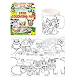 Farm Colouring Mug | Colour In Your Own Cup