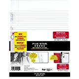 Five Star Reinforced Refill Paper College Ruled, 11x8-1/2-Inch, 100-Sheet