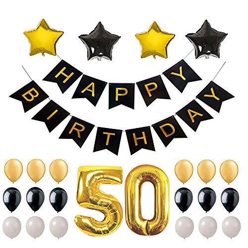 50 years old party supplies - 4