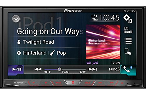 Pioneer AVH4200NEX 2-DIN Receiver with 7' Motorized Display/Built-in...