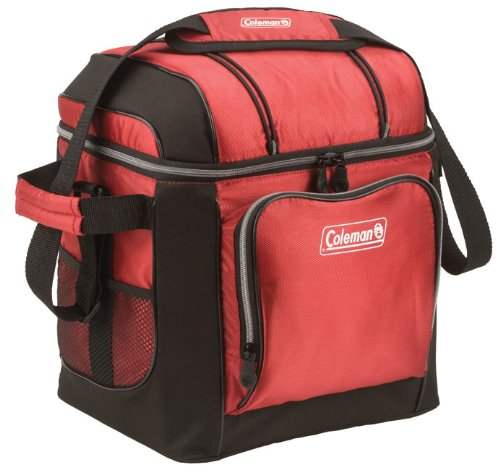 Coleman 30 Can Cooler,Red