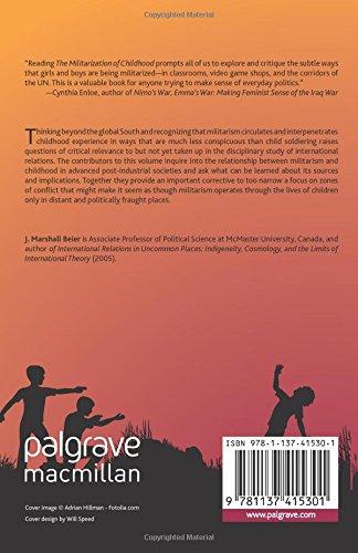 The Militarization of Childhood. Palgrave. 2011.