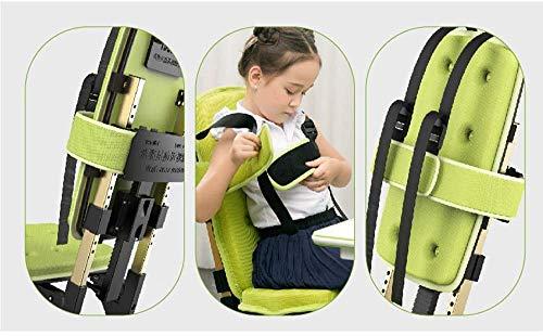 ZXL Korrigerande stol lyft skrivbordsstol, hem barns arbetsstol, student sittande hållningskorrigeringsstol, förhindrar närsynthet, skyddar ögat, korrekt sittande hållning