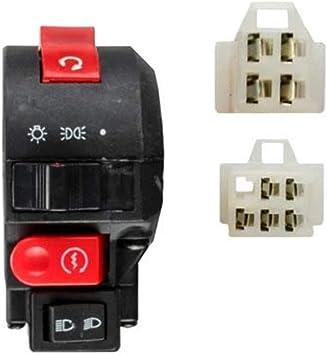 Kill Headlight Start Left handlebar Switch 125cc 110cc Taotao ATV 9 wires 2 plug