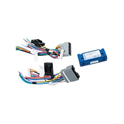 PAC C2R-CHY4 Radio Replacement Interface for Chrysler,Blue,8.75in. x 9.00in. x 2.00in.: Car Electronics
