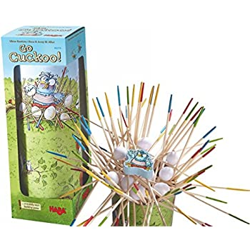 HABA Go Cuckoo! A Wobbly Nest-Building Game for Ages 4 and Up