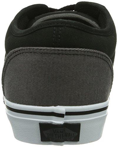 Atwood grey M Uomo black Baskets Per Vans Nero pqf6P6