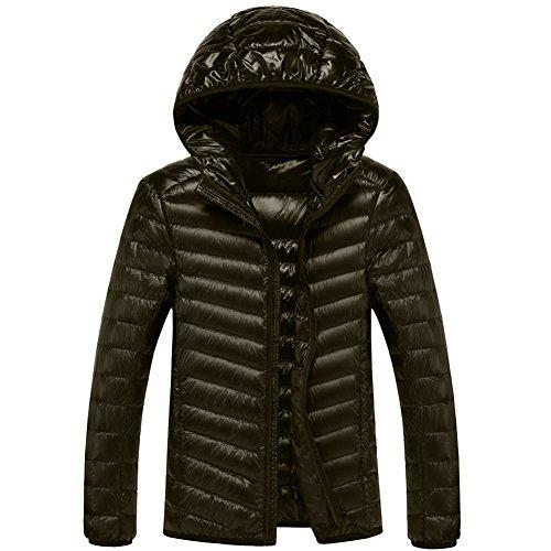 puffer jacket men hooded - 1