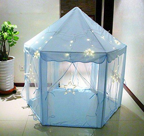 ABULU Kids Indoor/Outdoor LED Play Fairy Princess Castle Ten