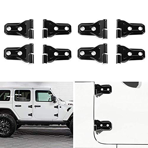 iTimo 1 Pair Aluminum Alloy Car Door Lock Knob Pin Cover Interior Accessories Door Lock Knob Pull Pins