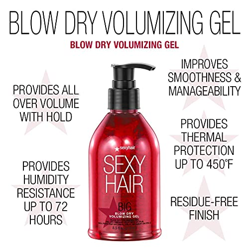 SexyHair Big Blow Dry big sexy hair Products review 2021