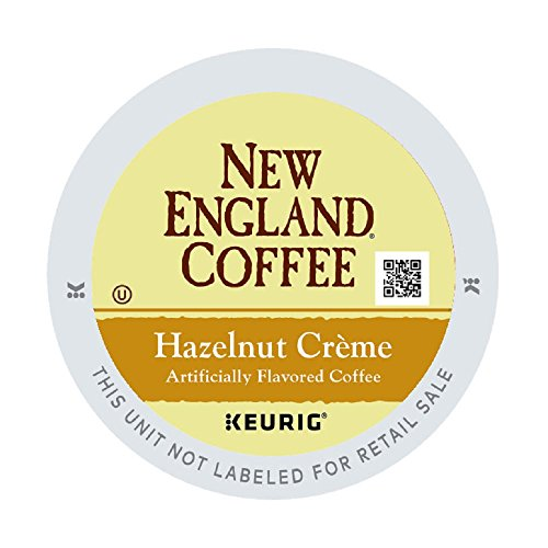 New England Coffee Hazelnut Creme, 12 off (pack of 6)
