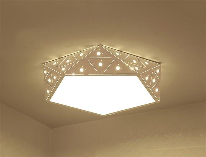 Gbyzhmh creative led geometrica lampada da soffitto camera da