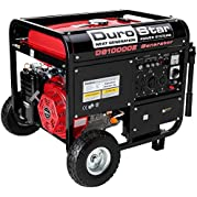 Generators DuroStar 10000W Portable Gas Electric Start Generator Standby Camping DS10000E