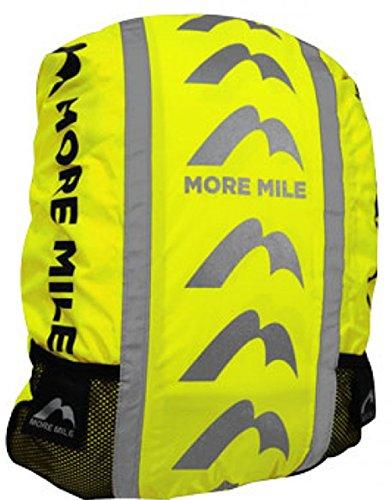 More Mile High Viz wasserdichtes Backpack Rucksack Fahrradtaschen Cover