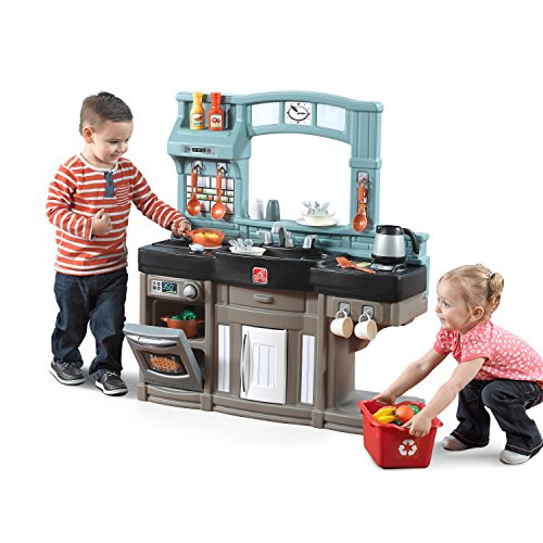 Step2 Best Chef's Kitchen Set, Blue/Black/Brown
