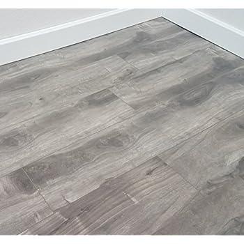 Turtle Bay Floors Ballard Grey Spalted Maple Plank Floating Laminate