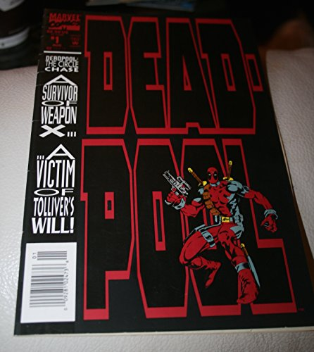 Deadpool Circle Chase #1-4 Complete Limited Series (Marvel Comics 1993 - 4 Comics)