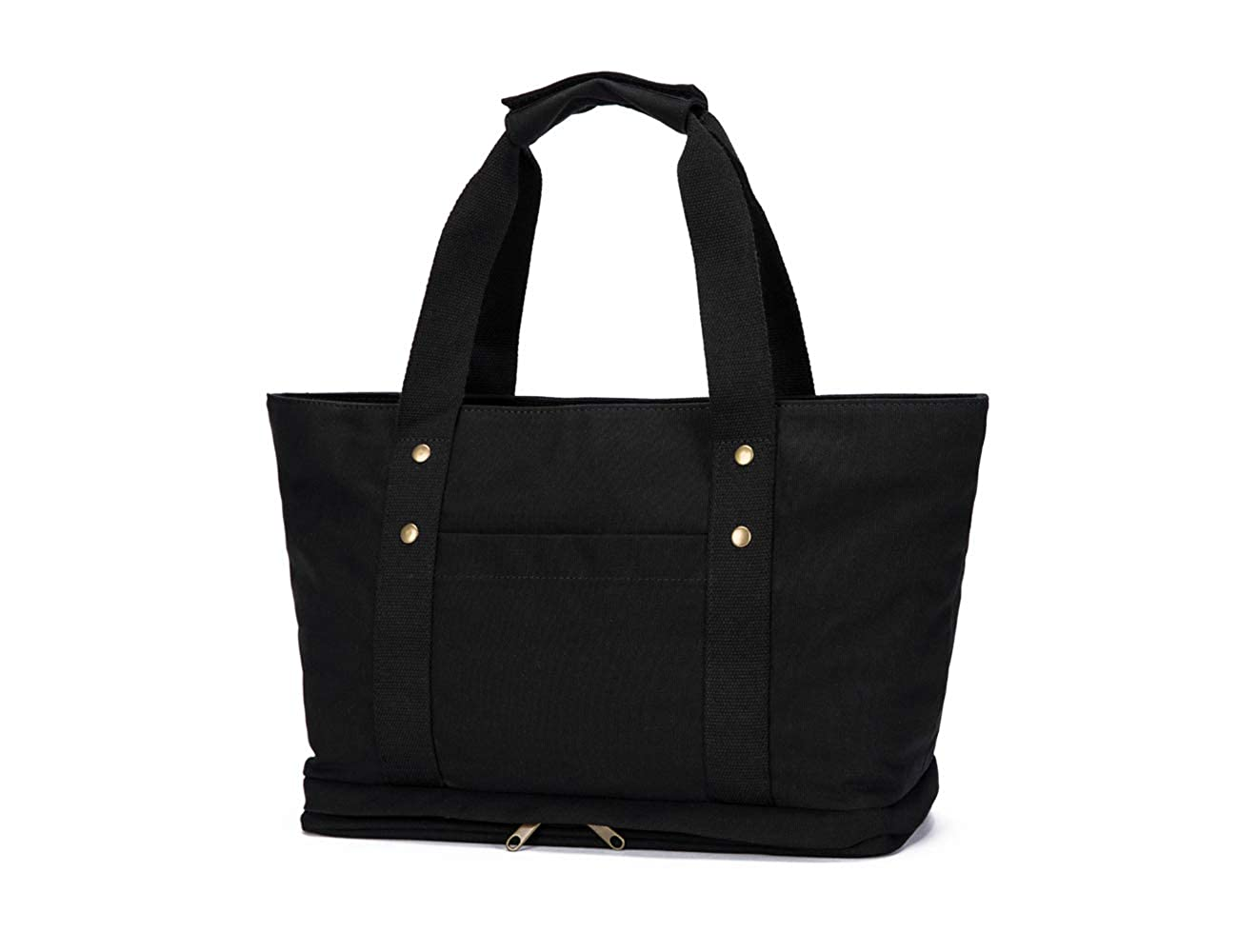 Gym Tote Weekender Bag Workout Bag Travel Beach Bag with Shoe Compartment-YONBEN