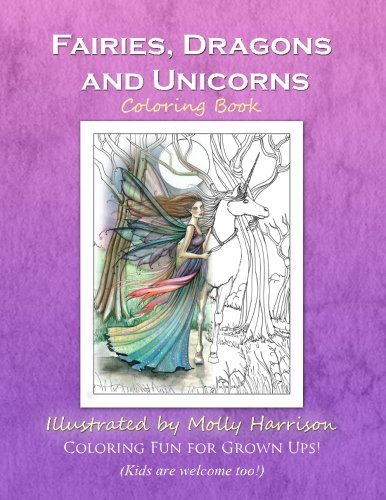 Download Fairies, Dragons and Unicorns: by Molly Harrison Fantasy Art pdf