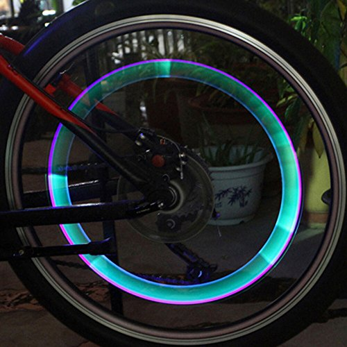 Bicycle tires light, 6cm long waterproof bicycle valve lights accessories