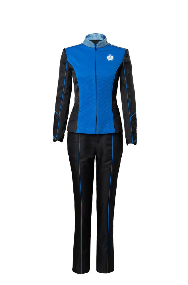 Blau XXL The Orville Ed Mercer Uniform Cosplay Kostüm Herren XXL