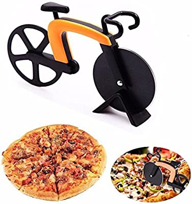 Compra G.a HOMEFAVOR Cortador de Pizza con Forma de Bicicleta ...
