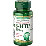 Nature's Bounty Time Release Extra Strength 5-HTP 200mg, 45 Count