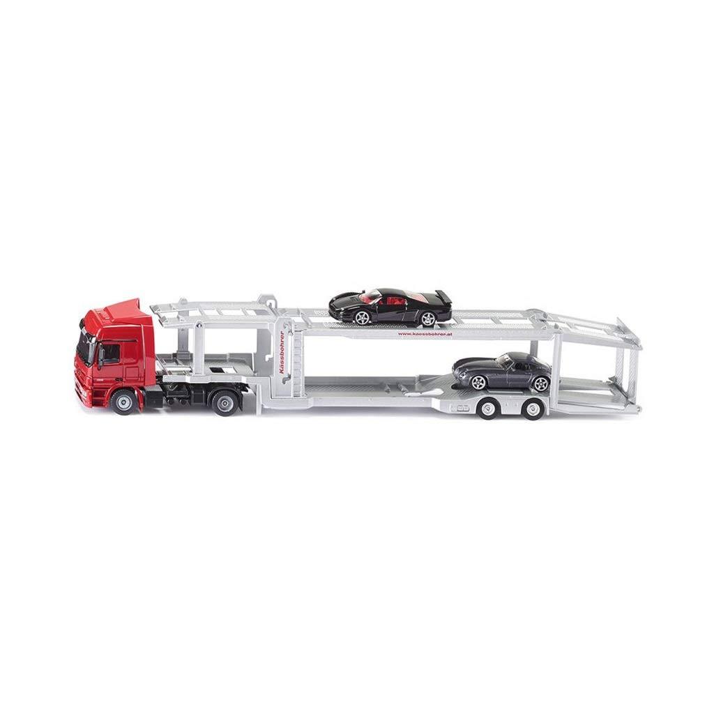 los clientes primero rojo HXGL-Modelo de coche Modelo de Coche Simulación Transporte Transporte Transporte Aleación de Coches Adornos estáticos Regalo de Juguete para niños (Color   rojo)  A la venta con descuento del 70%.