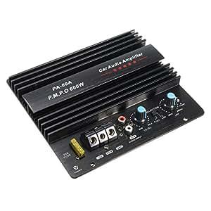 Amplificador de audio de alta potencia para coche, 12 V, 600 W, potente, subwoofers, amplificador PA-60 A