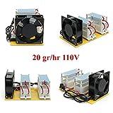 TongBF Commerical Ozone Generator 2000mg Industrial Heavy Duty O3 Air Purifier Deodorizer Sterilizer 20g Ozone generator