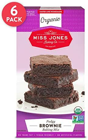 Baking Mixes: Miss Jones Baking Fudge Brownie Mix