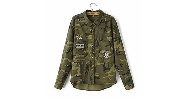 Amazon.com: H.coosy Pretty NEW Fashion Long Sleeve chaqueta ...