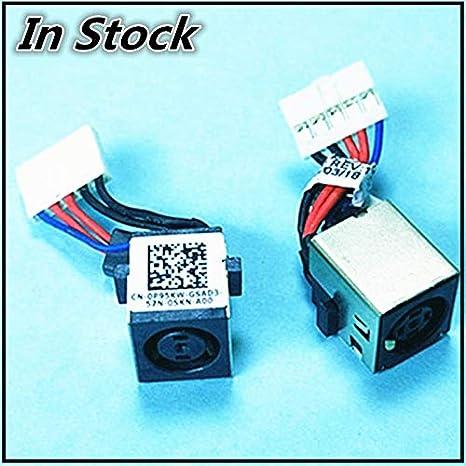 5b860d41ffae Amazon.com: ShineBear New Laptop DC Jack Cable Power Charging ...